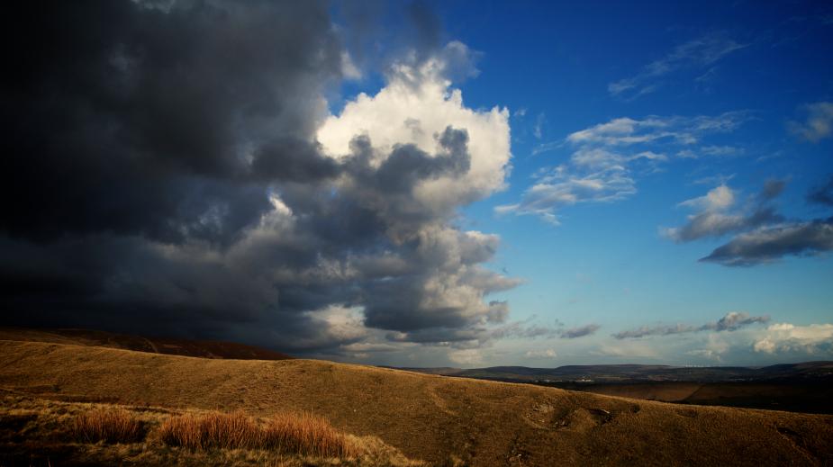 Storm over Sabden