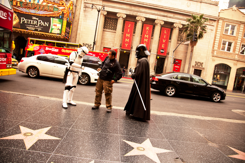 Darth Vader Hollywood