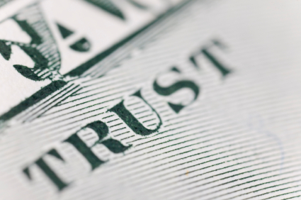 Trust Dollar bill