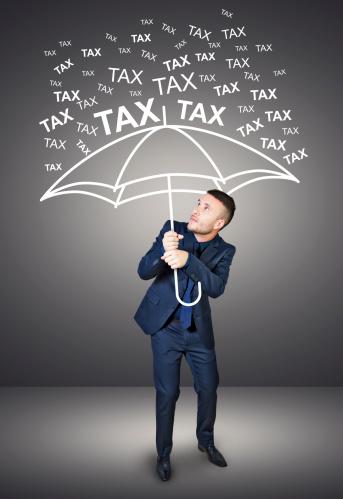 Taxes raining